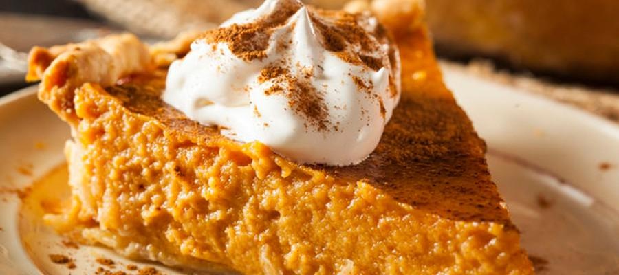Pastel de calabaza y ¿por qué no? ¡Thanksgiving!