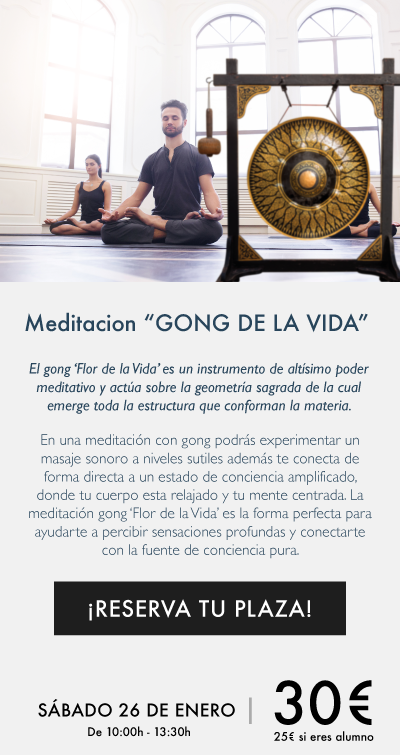 """Meditación """"GONG de la vida"""""""