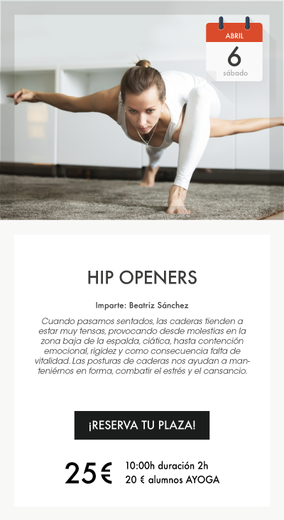 Curso Hip Openers